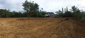 Jual tanah uk 6700m2, SHM ( hanya ± 1 KM dari pintu Tol Amplas )