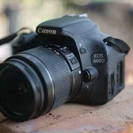 Canon 600D lensa kit