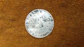 One rupees coin 1919