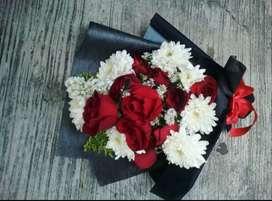 Bouquet bunga lampung