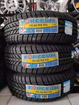 Jual ban accelera ukuran 185 60 R15 ,udah pasang,balancing,nitrogen