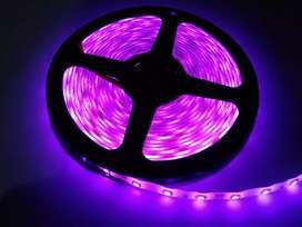 Lampu Led Strip 3528/2835 Pink Waterproof Outdoor