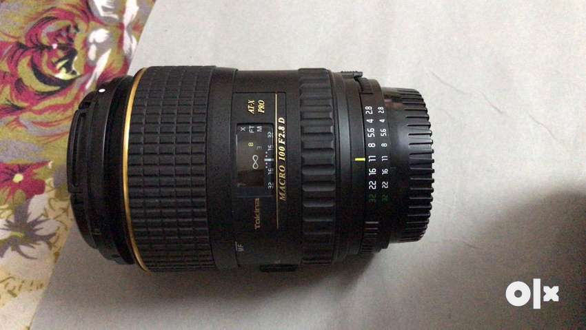 Tokina 100mm macro lense for nikon 0