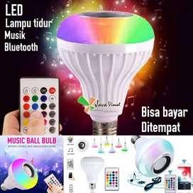 Lampu bluetooth musik