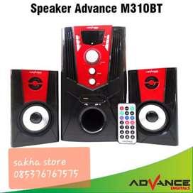 Speaker advance jumbo M310bt suara jossshh