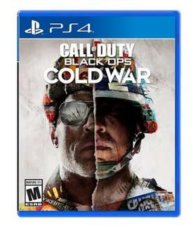 Call of duty Cold War PS4/PS5