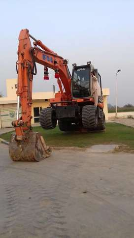 Wheel excavator for sale