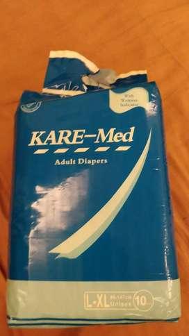 Adult diaper pack
