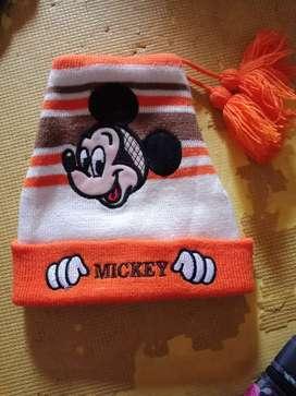 Topi bayi boy mickey