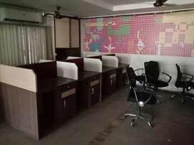 Furnished office space at  Ulubari, main road side