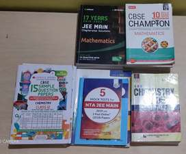 A set of Class 12 imp. Books new edition