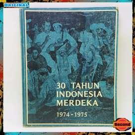 Buku Sejarah 30 Tahun Indonesia Merdeka Jilid 4 Original (Tahun 1986)