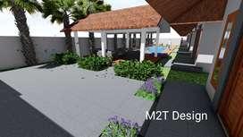Jasa design rumah, villa, hotel dll