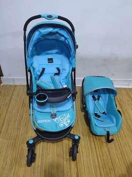 Stroller babyelle + car seat