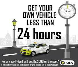 OLA leasing cars - Wanted Drivers