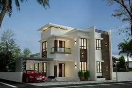 Budget Villa for sale at calicut