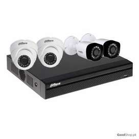 CCTV 04 Cameras Package with Installation