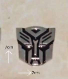 Emblem logo transformer