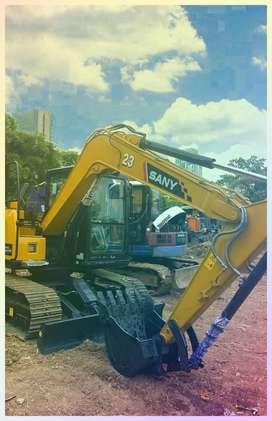 Penyewaan Excavator + Excavator Board Jayapura~  Operator & Borongan