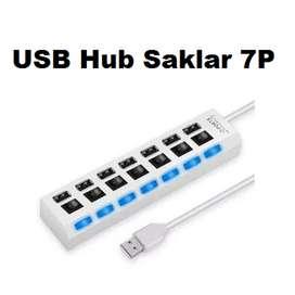 USB Hub Saklar ON/OFF 7 port 2.0