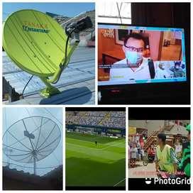 Teknisi pasang parabola mini gratis cctv servis area dompu