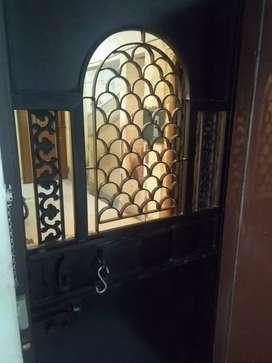 Strong Iron & Galvanised Door
