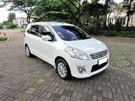 CASH: Suzuki ERTIGA GX A/T Putih - Km Rendah - Tdk Ada PR - Siap Pakai