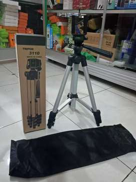 Tripod weifeng 3110/tripod hp/camera ukuran 1 meter+ holder U new