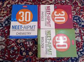 MTG Previous 30 Year NEET Chapterwise Solutions (1988-2017)