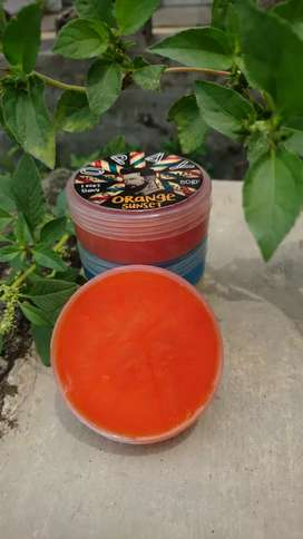 Oilbased and waterbased Pomade