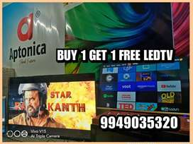 APTONICA MAKE IN INDIA SMART 4K LEDTV BUY 1 GET 1 FREE 3 YEARS WTY
