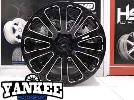 Cicil Velg Mobil HSR Wheel FORTIUS Ring 20 Lubang 6x139,7 GBMF