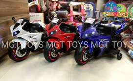 Kids yamaha R7 electric bike