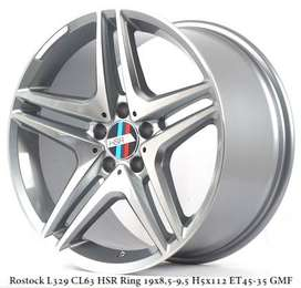 Velg Mercy ROSTOCK CL63 L329 HSR R19X85-95 H5X112 ET45-35 GMF