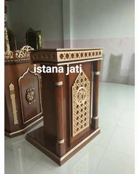 Mimbar Masjid masih tersedia