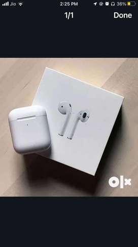 Apple airpods with wireless charging