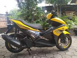 Aerox 155 kuning istimewa km rendah AD solo