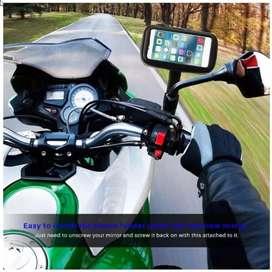 HOLDER MOTOR anti air 6.3 INCH Cocok driver ojol/grab