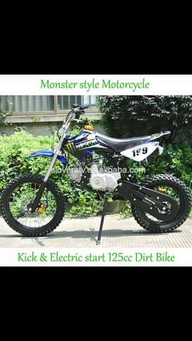 BRAND NEW DIRT BIKE 125cc FOR ADULTS