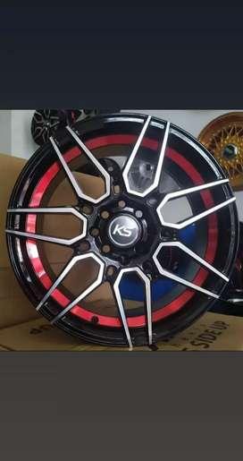 AMW wheels VELG IMPOR R16x7 PCD 8x100/114.3 OFFSET 40 BUAT AVANZA.