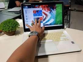 Laptop sony vaio svf143A1yw gaming dan multimedia