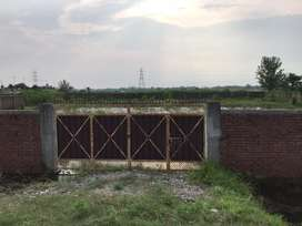 20 kattha plot for godown and any factory with full covered by boundry