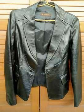 Jaket Leather domba asli