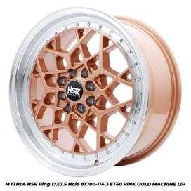 stock terbaru hsr wheel type MYTH06 ring 17 pgml