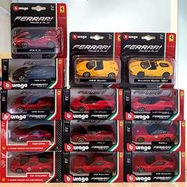 Die cast Bburago Burago Ferrari Shell 1set 1:43  1/43