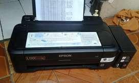 Printer epson l 110 kondisi normal hasil ok