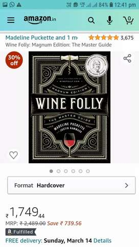 New Wine Folly Magnum Edition Master Guide Wine Book-Price Negotiable
