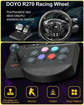 Arcade controller for Tekken 7 play PS4 PS3 XBOX ONE & NINTENDO SWITCH