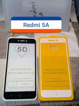 Anti gores kaca Full Screen Redmi 5A