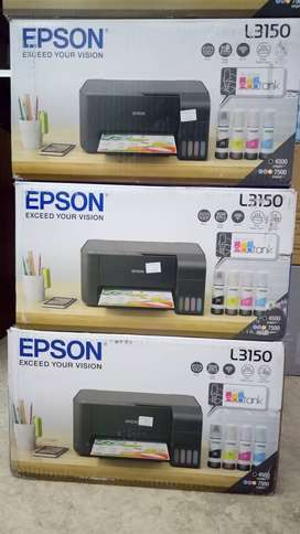 Printer Epson L3150  print scan copy Wifi